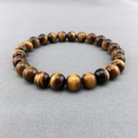 2017 Time Limited Trendy Women Stone Snake Chain New Fashion 10mm High Quality Tiger Eye Beaded