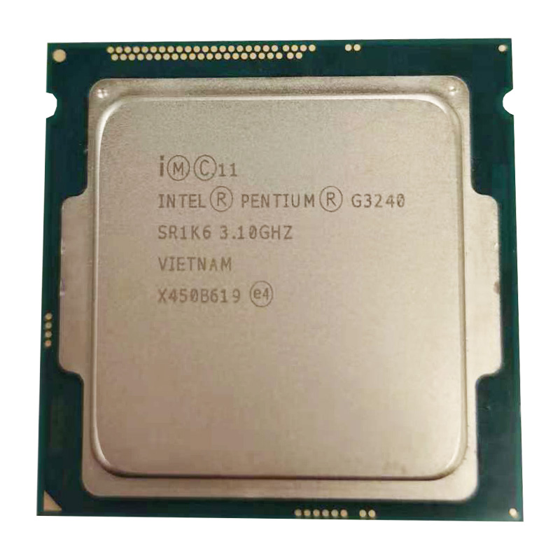 Intel Pentium Processor G3240 3.1g LGA1150 22 Nanometers LGA1150 3M Cache Dual-Core CPU Processor TPD 53W ,have A G3220 Sale