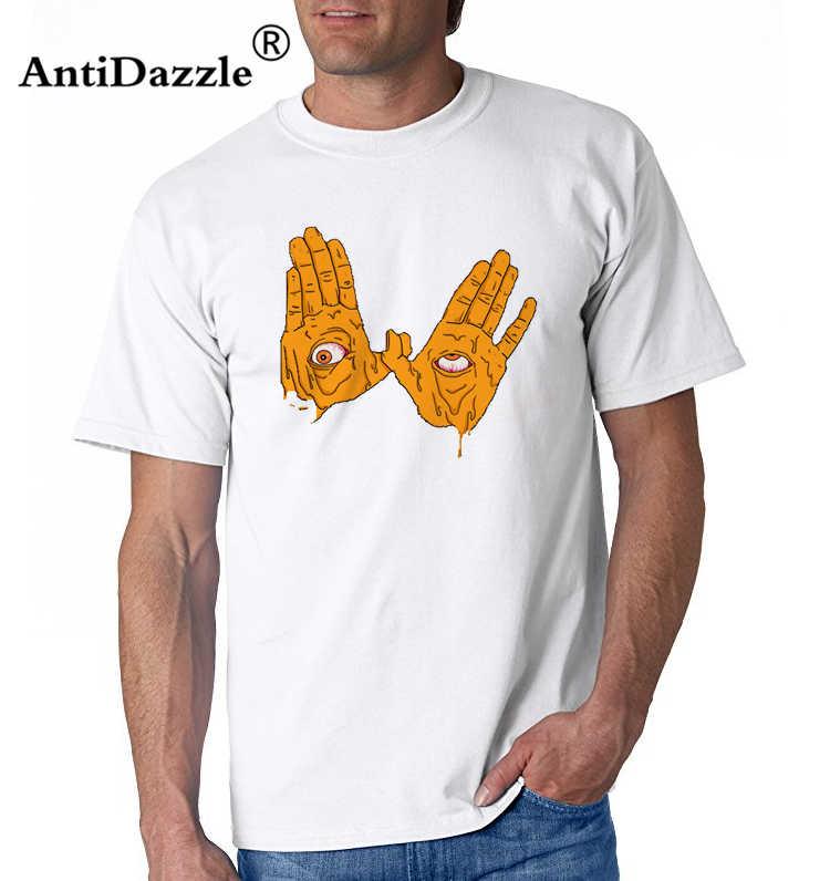 Tシャツヴィンテージ呉唐一族クラシックラップハードコアワットロゴ呉唐男の綿半袖 Tシャツ人気男性メンズ T シャツ