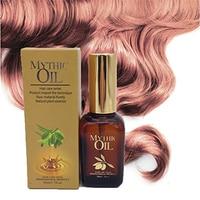 Free shipping 50ml moisturizing smoothhair oil hair care essential argan oil mythic oil nutrition for damaged hair