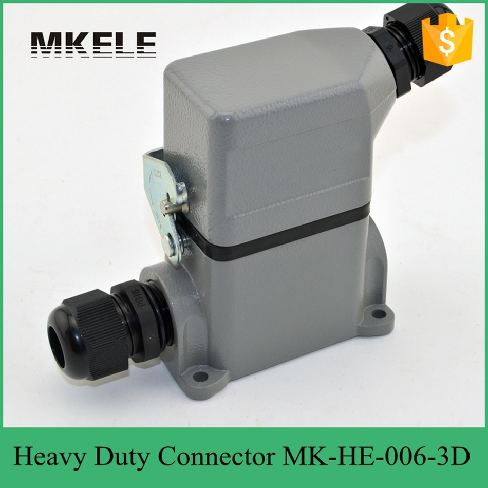 6 PIN 16A Rated Voltage 400/500V Rectangular Heavy Dc Power Cable Connector,heavy Duty Compression Connector MK-HE-006-3D дырокол deli heavy duty e0130