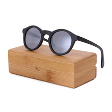 BerWer 2017 fashion polarized woman sunglasses man Bamboo wooden sunglasses