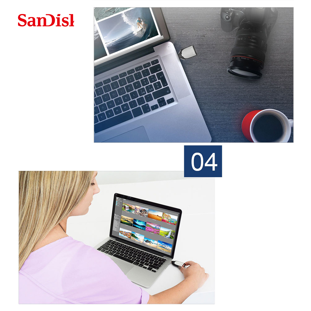 Sandisk 3.0 lecteur de carte Super vitesse lecteur de carte SD à Interface USB Multi mémoire intelligente pour ordinateur lecteur de carte USB SDDR-399 - 6