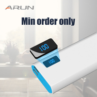 ARUN 50 300 шт. мини заказ t 10000 мАч power bank лучший продавец во всех электронных коммерциях platfo 2.1A может быть отправлен с российского склад