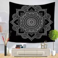 Indian Mandala Tapestry Hippie Home Decor Wall Hanging Bohemia 3D Beach Mat Elephant Bedspread Table Cloth Hot New Louts Mandala