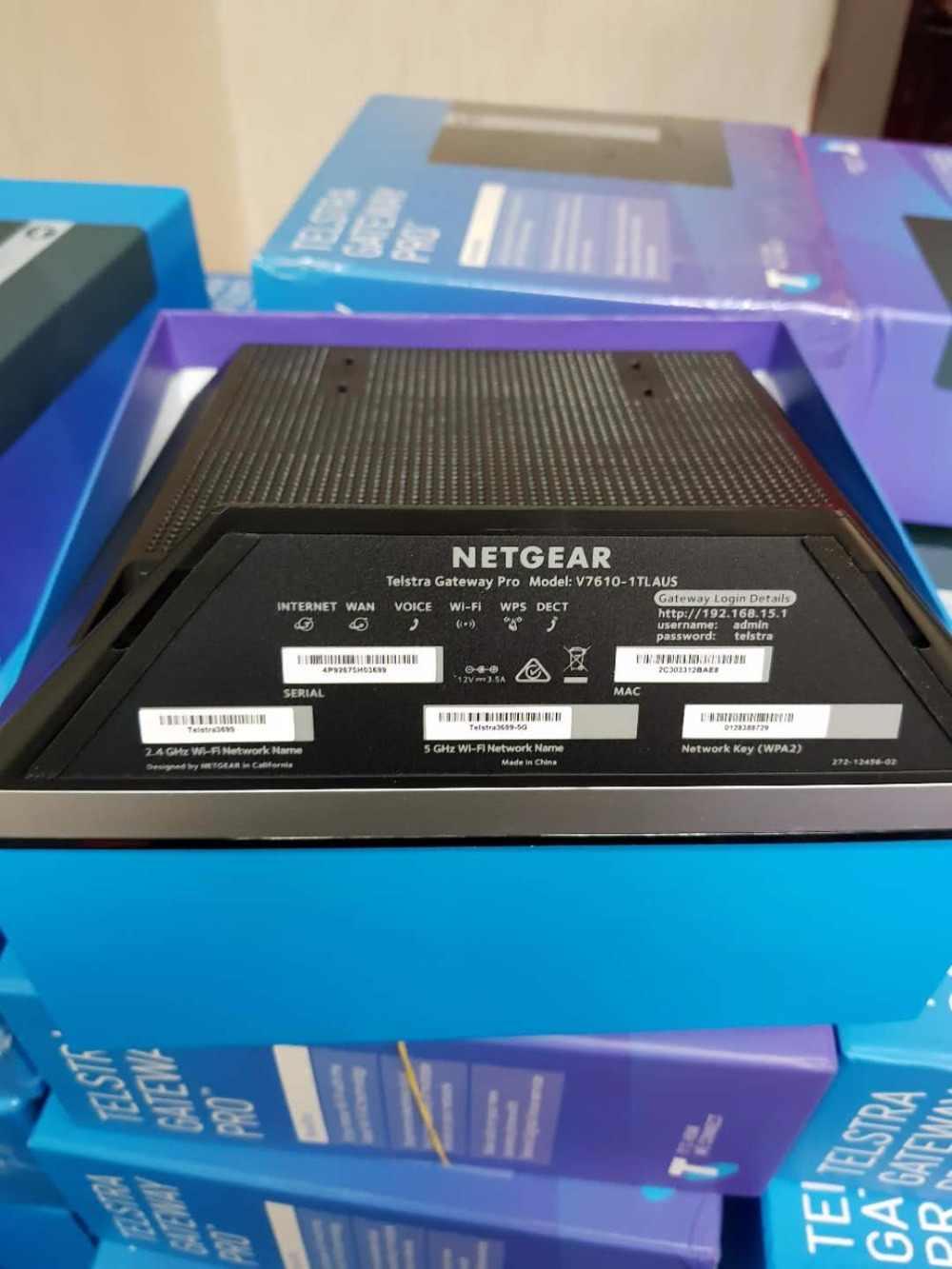 Telstra Gateway Pro (Netgear v7610) New In Box NBN Router Modem