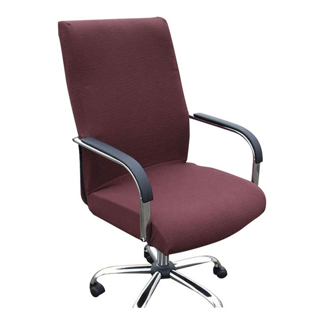 Computer Arms Chair Covers Rotating Chair Covers For Boss Office Home  Colors Polyester Spandex Chair Cover