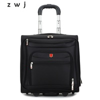 Business Spinner Travel Suitcase Boarding Bag Aluminum Alloy Trolley Case Rolling Luggage