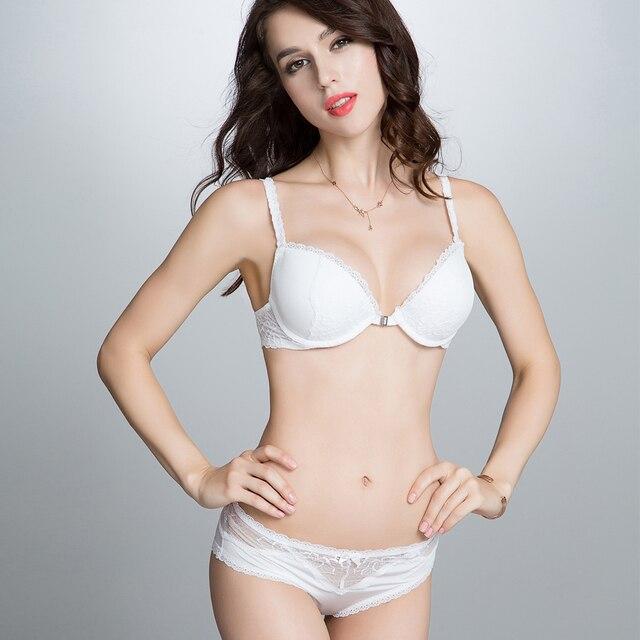 4c9c7b63d8d Womens Sexy Bra and Panty Sets V-Neck Push Up Lace Bralette Fashion Hollow Lace  Underwear Set Ladies Lingerie sets Super Boost