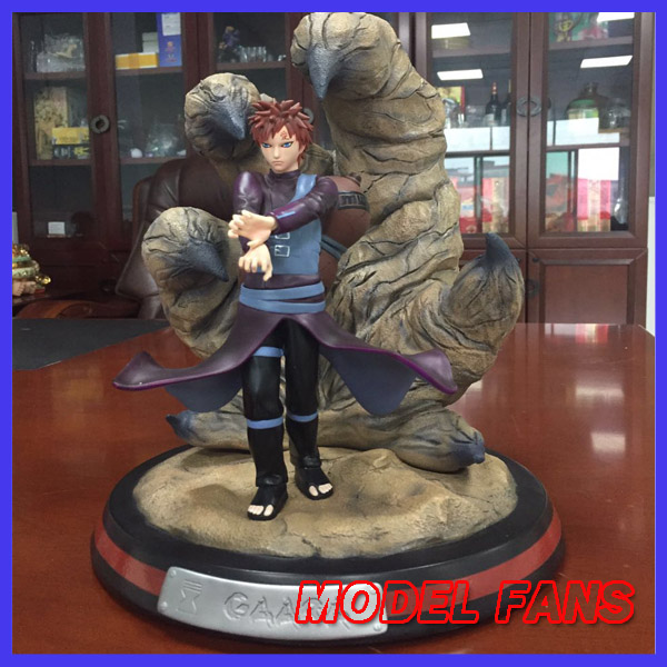 MODEL FANS IN-STOCK Naruto tsume The same paragraph 30cm Gaara pvc made statue figure for collection model fans in stock the same paragraph tsume 42cm one piece edward newgate gk resin made for collection