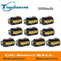 Wholesale 10PCS High Quality Battery 20V 5000mAh Power Tools Replacement Battery For Dewalt DCB181 DCB182 DCD780