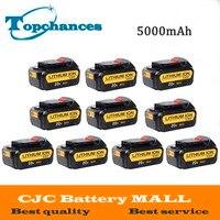 Bán buôn 10 CÁI Chất Lượng Cao Pin 20 V 5000 mAh Công Cụ Điện Replacement Pin Cho Dewalt DCB181 DCB182 DCD780 DCD785 DCD795