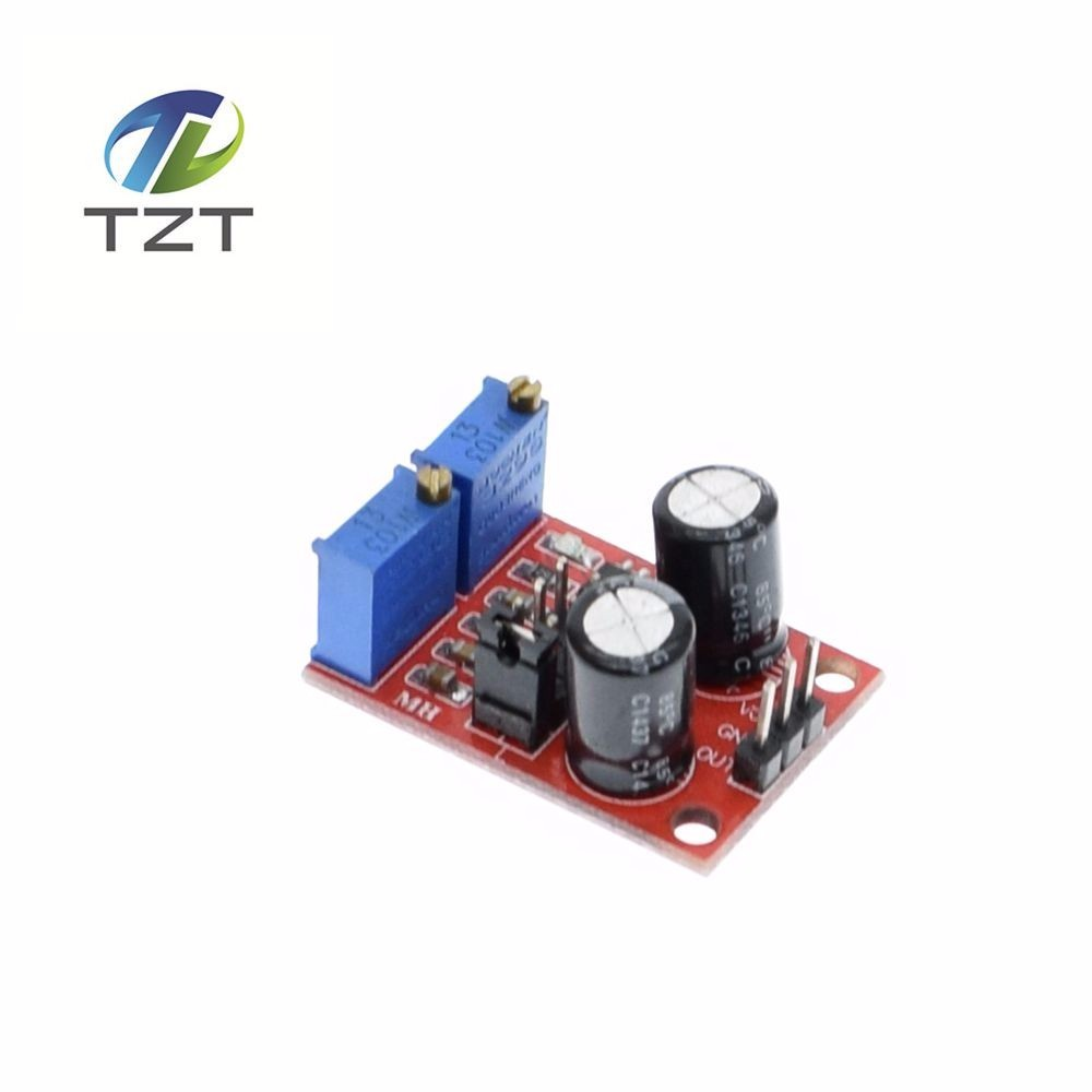 20pcs Ne555 Pulse Frequency Duty Cycle Adjustable Module Square Wave Arbitrarydutycycle Squarewave Oscillator Circuit Diagram 5pcs Signal Generator