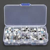 10values 90pcs Solid Capacitor Assorted Kit 2 5V 4V 6 3V 16V 100uF 270uF 470uF 560uF