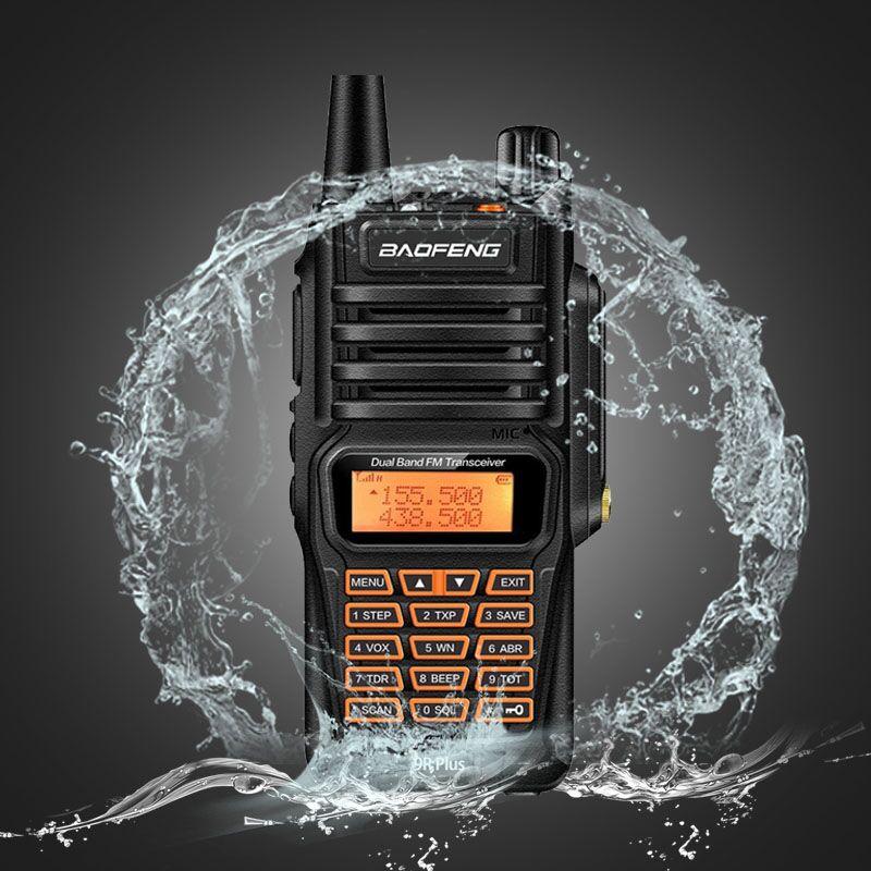 Baofeng Walkie-Talkie Radio Dual-Band UV9R Handheld Long-Range CB Waterproof Portable