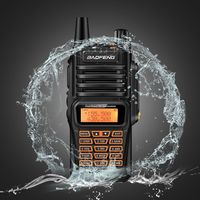 Baofeng UV 9R Plus Waterproof Walkie Talkie 8Watts Two Way Radio Dual Band Handheld 10km long range UV9R CB Ham portable Radio