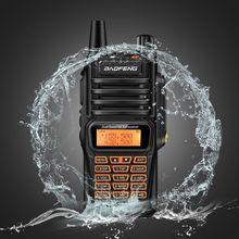 Baofeng UV-9R плюс влагонепроницаемые Walkie Talkie 8 Вт двухстороннее радио Двухдиапазонный портативный 10 км long range UV9R CB Хэм портативный Радиоприемник