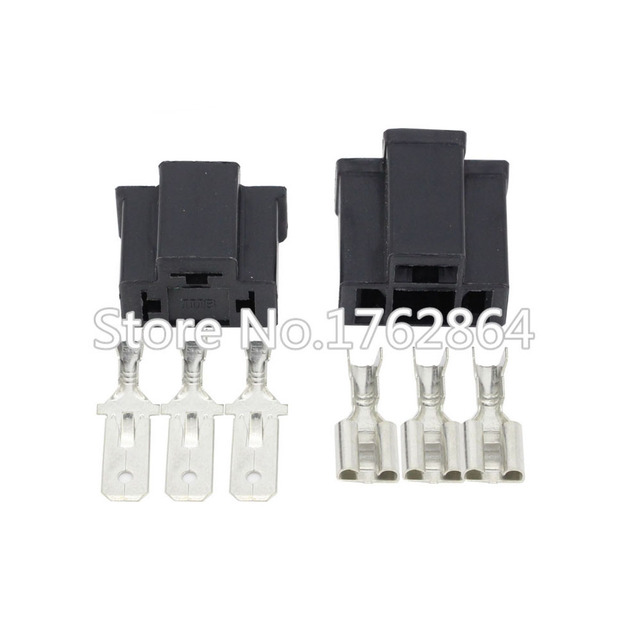 PA66 H4 3 Pin Entsiegelt Kabel Draht Stecker Elektrische Verbinder ...