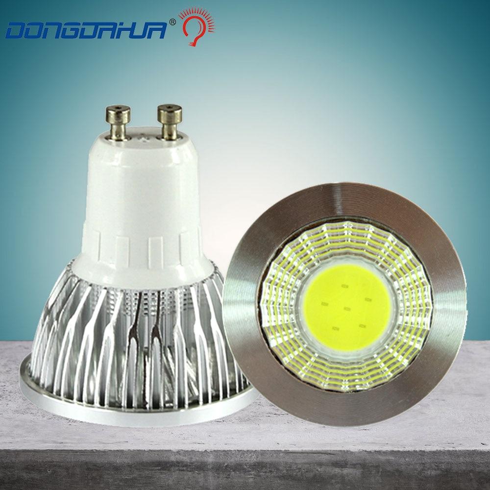 Niedrigsten preis GU10 led licht led und 220 v 3 w 5 w 7 w 9 w cob led lampe GU10 led-strahler beleuchtung