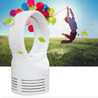 New Portable Mini USB Tower Fan Cooling Bladeless Air Conditioner Car Auto Home Office Cool