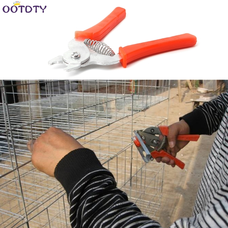 Pet Cages Pliers Chicken Quail Birdcage Installation Cat Dog Animal Clamp Tools