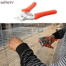 Pet Клещи для клеток курица перепелиная клетка установка кошка собака животное зажим инструменты