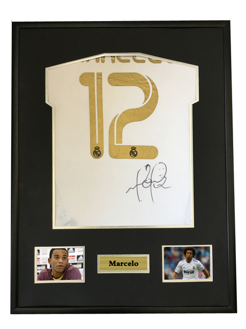 Marcelo signed autographed soccer shirt jersey come with Sa coa ...
