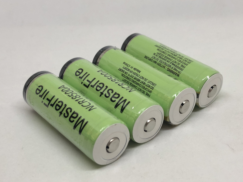 MasterFire New Original 3.6V NCR18500A 18500 2000mah Li-Ion Battery Rechargeable Protected Batteries with PCB For Panasonic