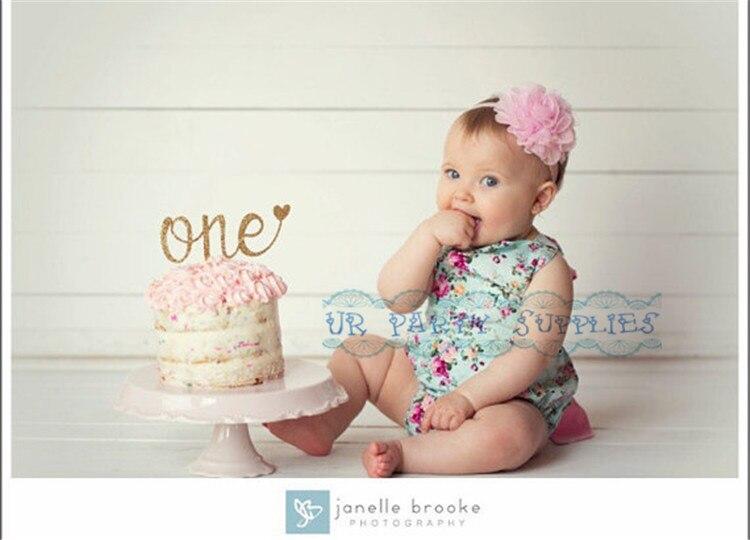 eerste verjaardagstaart baby
