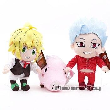 Anime Cartoon The Seven Deadly Sins Meliodas Ban Hawk Plush Toy Soft Stuffed Doll Gift