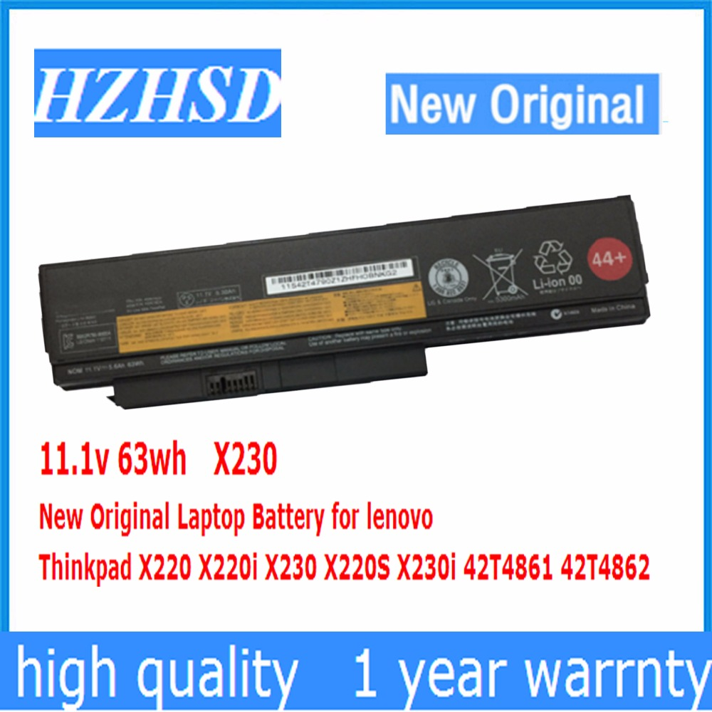 11.1v 63wh New Original X230 Laptop Battery for lenovo Thinkpad X220 X220i X230 X220S X230i 42T4861 42T4862 new laptop cable for lenovo thinkpad x220 x220i x230 x230i pn 50 4kh04 001 replacement repair notebook lcd lvds