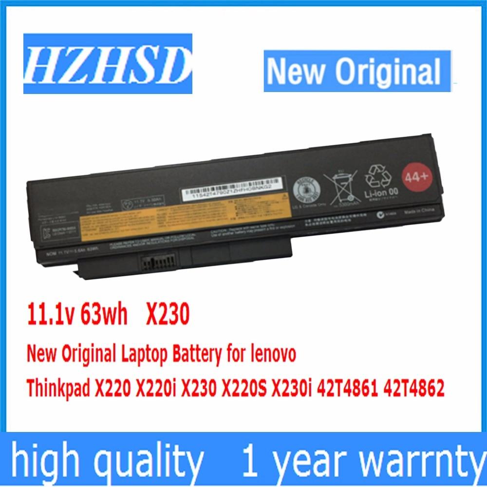 11.1v 63wh New Original X230 Laptop Battery For Lenovo Thinkpad X220 X220i X230 X220S X230i 42T4861 42T4862