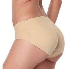 Sexy Women Padded Panties Butt Enhancer Seamless Bottom up Bum Hip Underwear