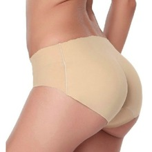 Sexy Women Padded Panties Butt Enhancer Seamless Bottom up Bum Hip Underwear