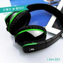 Over-Ear LED Проводной складной стерео extra Bass Наушники для Mp3 голову игрока Телефон головные телефоны Fone де ouvido auriculares