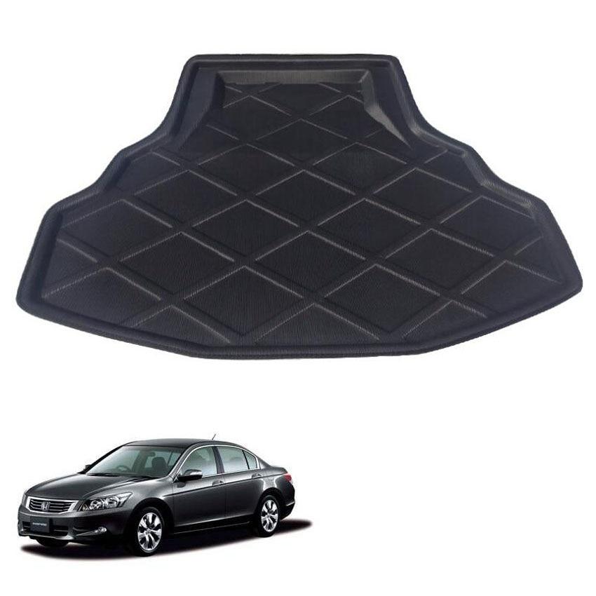 For Honda Accord 8th 2008-2012 Car Trunk Mat Rear Liner Cargo Boot Mat Protect Car Floor Carpet Interior Accessories