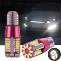 2Pcs High Power Car Clearance Lights Set 5W 57SMD LED White Xenon Canbus Turn Signal Lights Parking Bulb 4014 T10 12V 300LM