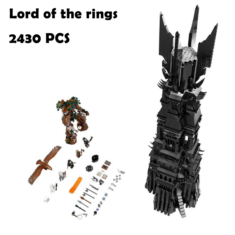 Model Building Blocks toys 16010 2430Pcs Lord of the rings compatible with lego Movies Series 10237 Educational DIY toys hobbies женские кольца jv женское серебряное кольцо с куб циркониями в позолоте wr22496 bw 001 pink 17