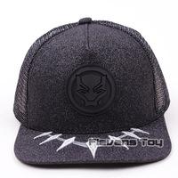 Marvel Avengers Black Panther   Baseball     Cap   Snapback Hat For Men Women Brand Adjustable Hats   Caps