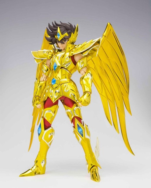 Original Bandai saint seiya myth cloth Tamashii Nations saint seiya Sagittarius Aiolos Omega metal pvc action figure