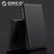 hot deal buy orico 2.5 inch sata to usb 3.0 hdd ssd case for samsung seagate ssd 2tb 4tb hard disk drive box external hdd enclosure full mesh
