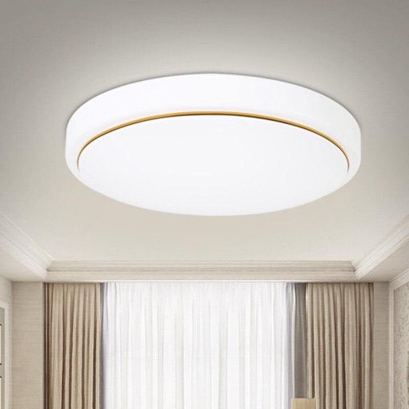 Montagem em superfície LEVOU luz de teto Ultra-fino 12/24 W moderna CONDUZIU a luz de teto para sala de estar quarto sala de jantar a luz de teto