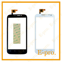 New Touch Screen For DNS S4501M Touchscreen Digitizer Front Glass Replacement s4501m 4501 Touch Black White Color+3m sticker