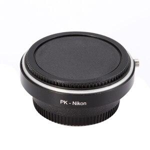 Image 2 - Адаптер объектива Fotga со стеклом для объектива Pentax PK K к Nikon D810 D800 D750 D7100 D5300 D7200