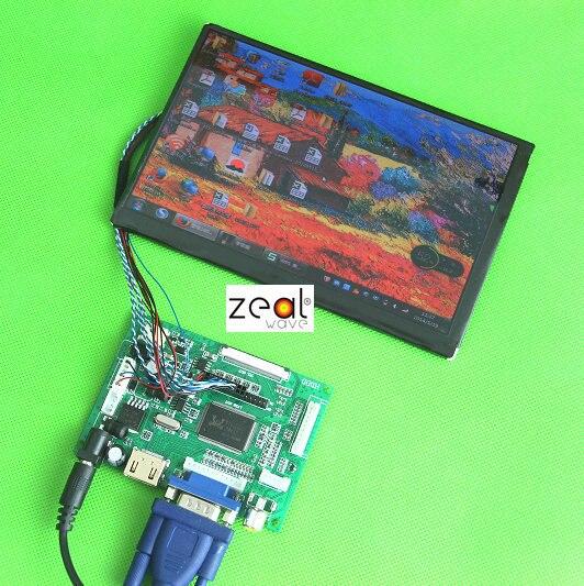 Free shipping car driver board kit car diy ips screen N070ICG-L1D4 N070ICG-LD1 1280*800 40PI+controller +remote HDMI VGA AV 7 inch ips high definition lcd screen driver board display kit 1280 800 projector diy reversing