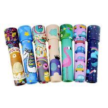 Классические игрушки калейдоскоп Монтессори вращающийся волшебный красочный мир игрушка для детей развивающая детская игрушка-Паззл подарок