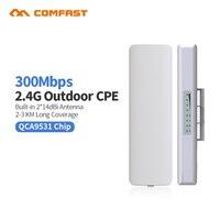 2 4G Outdoor CPE Bridge 300Mbps Long Range Signal Booster Extender 1 5 3km Wireless AP