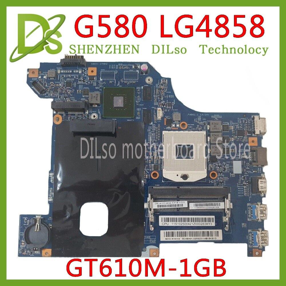 EFU LG4858 For Lenovo G580 LG4858 Laptop motherboard LG4858 MB 11252-1 mainboard Test HM76 GT520M/GT610M original motherboard EFU LG4858 For Lenovo G580 LG4858 Laptop motherboard LG4858 MB 11252-1 mainboard Test HM76 GT520M/GT610M original motherboard