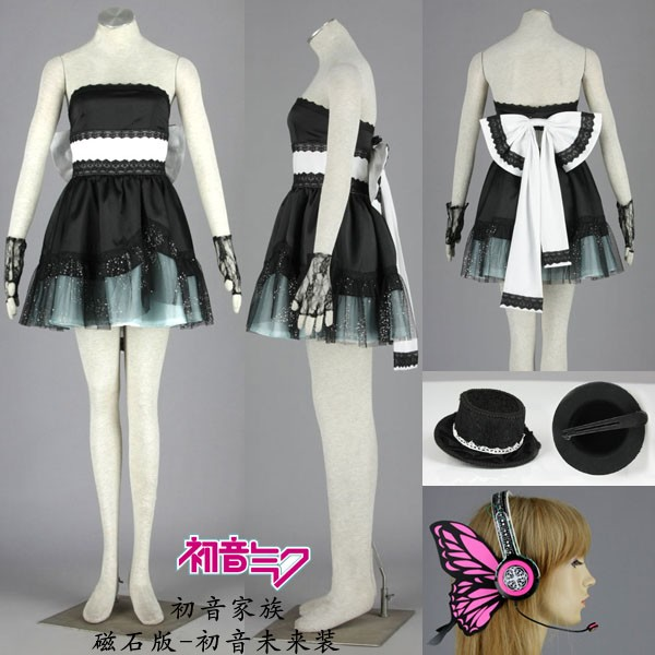 VOCALOID Formula Magnet Hatsune Miku cosplay costume clothes halloween  Christmas Party