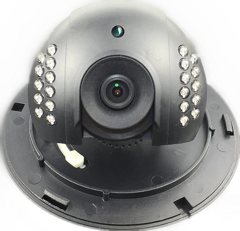 Details about IP WIFI Wireless AP Dome Camera Plastic Indoor 1280*1080 P2P  iCsee CMS Audio